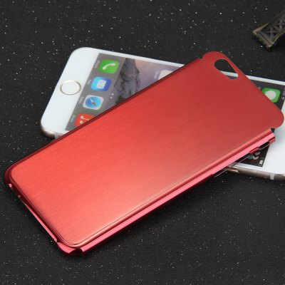Brushed Back Cover Case with Solid Color for iPhone 6  -  4.7 inches