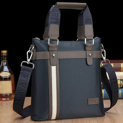 Office Color Block and Logo Design Mens BriefcaseMens Bags<br>Office Color Block and Logo Design Mens Briefcase<br><br>Gender: For Men<br>Style: Fashion<br>Closure Type: Zipper<br>Pattern Type: Patchwork<br>Height: 29cm<br>Length: 27cm<br>Width: 5cm<br>Main Material: PU<br>Weight: 0.790KG<br>Package Contents: 1 x Briefcase