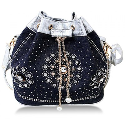 Rhinestones Design Shoulder Bag For Women