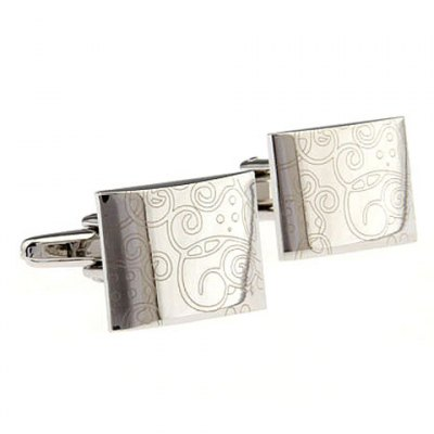 Special Design Square Shape Alloy Cufflinks