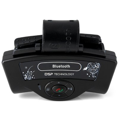 Steering Wheel Style Full Duplex Bluetooth 2.1 Hands Free Kit Enjoy Car Music Phonecall