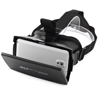 3D Virtual Reality Headset Phone 3D GlassesVR Headset<br>3D Virtual Reality Headset Phone 3D Glasses<br><br>Color: Black<br>Compatible with: Smartphones<br>Package Contents: 1 x 3D Glasses, 1 x Glasses Cloth, 1 x English Manual<br>Package size (L x W x H): 20 x 15 x 12 cm / 7.86 x 5.90 x 4.72 inches<br>Package weight: 0.400 kg<br>Product size (L x W x H): 17.2 x 13 x 10 cm / 6.76 x 5.11 x 3.93 inches<br>Product weight: 0.227 kg<br>Smartphone Compatibility: 4.7 - 6.0 inch<br>VR Glasses Type: VR Glasses