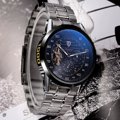 Tevise 8378 Men Automatic Mechanical Watch