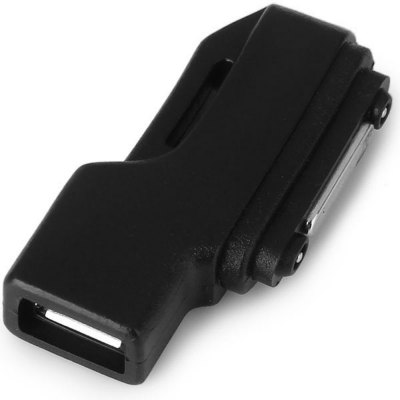 CY GT-149-BK 90 Degrees Angled Micro USB Interface Magnetic Charging Adapter