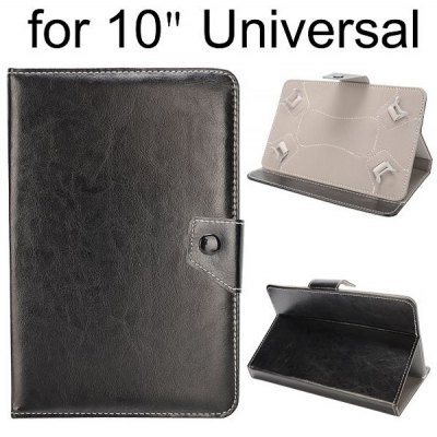 Magnetic Flip Clip Stand PU Leather Case Cover