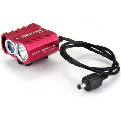 Nitenumen BC - A2 Cree XML L2 + R5 Water - resistant Dual Distance Beam LED Headlight  -  1100Lm 4 Modes 4 x 18650 Battery