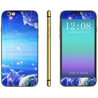 Novelty Constellation Pattern Phone Decal Skin Protective Full Body Sticker  -  Gemini