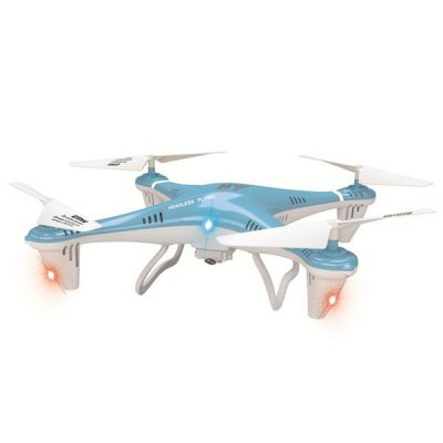 HT F801C Cool LED 2.4GHz RC Quadcopter 4CH 6 Axis Gyro Eversion Flying Headless Mode UFO with 1.0MP Camera