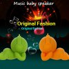 Unique Angel Music Baby Speaker Music Ball for iPhone 6 Plus / 6 / 5s / 5c Birthday Christmas New Year Souvenir Presents deal