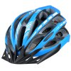 best Cool Bicycle Helmet Unibody Integrated Cycling Hat with 6 LEDs Light Lamp