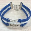 cheap Cute Love Letter Eight Layered Bracelet For Women