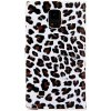 Leopard Print Design PU Leather and PC Cover Case for Samsung Galaxy Note4 N9100 for sale