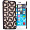 Stylish Empaistic Circle Pattern Plastic Back Case Cover for iPhone 6 Plus  -  5.5 inches