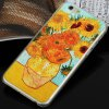 cheap Aobntech PC Protective Back Case of Van Gogh Sunflower Painting Pattern Design for iPhone 6  -  4.7 inches