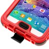 best Link Dream Practical Transparent Waterproof PC and TPE Protective Case for Samsung Galaxy Note 4 N9100