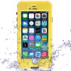 Link Dream Practical Transparent Waterproof PC and TPE Protective Case for iPhone 6  -  4.7 inches