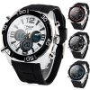 Buy Hpolw 606 Military Sports LED Watch Multifunction 30M Water Resistant Double Time BLACK