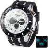 Buy Hpolw 592 Military LED Sports Watch Dual Time Alarm Stopwatch 3ATM Water Resistant WHITE
