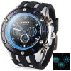 Buy Hpolw 592 Military LED Sports Watch Dual Time Alarm Stopwatch 3ATM Water Resistant BLUE