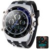 Buy Hpolw 607 Multi - function LED Military Watch Fashion Dial 30M Water Resistant Sports BLUE