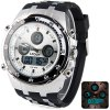 Buy Hpolw 607 Multi - function LED Military Watch Fashion Dial 30M Water Resistant Sports RED
