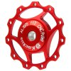 cheap Kactus A10 CNC 11T Guide Roller Wheel Rear Derailleur Pulley with Alluminum Alloy Material for SHIMANO SRAM / 7 / 8 / 9 / 10 Speed