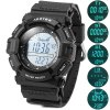 Buy Spovan SPV706 Multi - function Thermometer Altimeter Watches Sports Fishing Barometer Watch 30M Water Resistant BLACK