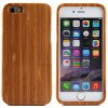 Fashionable Bamboo Back Case for iPhone 6  -  4.7 inches