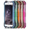 R - just Anti - drop Metal and PU Leather Back Cover Case for iPhone 6 Plus  -  5.5 inches photo