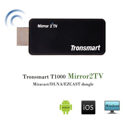 Tronsmart T1000 Mirror2TV WiFi Wireless Display HDMI Adapter Dongle