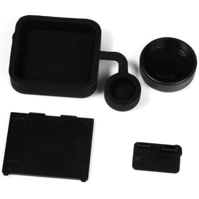 AT133 Multifunctional GoPro Accessories Protective Lens Cover Set for Hero 3+