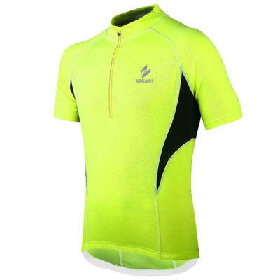 Arsuxeo 665 Cycling Jersey Short Sleeve Sweatshirt Bike Bicycle Outdoor Racing Running ClothesCycling Clothings<br>Arsuxeo 665 Cycling Jersey Short Sleeve Sweatshirt Bike Bicycle Outdoor Racing Running Clothes<br><br>Type: Cycling Jerseys<br>Brand Name: Arsuxeo<br>Model Number: 665<br>For: Unisex<br>Material: Polyester<br>Functions: Quick-drying, Soft, Breathable<br>Suitable for : Road Bike, Electrombile, Bike, Motorbike, Mountain Bicycle<br>Color: Red, Blue, Green<br>Size: L, M, XL, XXL<br> Product weight : 0.190 kg<br>Package weight : 0.240 kg<br>Package size (L x W x H)  : 25 x 22 x 2 cm<br>Package Contents: 1 x Cycling Jersey