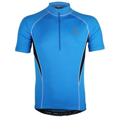 Arsuxeo 665 Cycling Jersey Short Sleeve Sweatshirt Bike Bicycle Outdoor Racing Running ClothesCycling Clothings<br>Arsuxeo 665 Cycling Jersey Short Sleeve Sweatshirt Bike Bicycle Outdoor Racing Running Clothes<br><br>Type: Cycling Jerseys<br>Brand Name: Arsuxeo<br>Model Number: 665<br>For: Unisex<br>Material: Polyester<br>Functions: Quick-drying, Soft, Breathable<br>Suitable for : Mountain Bicycle, Road Bike, Electrombile, Bike, Motorbike<br>Color: Green, Red, Blue<br>Size: L, M, XL, XXL<br> Product weight : 0.190 kg<br>Package weight : 0.240 kg<br>Package size (L x W x H)  : 25 x 22 x 2 cm<br>Package Contents: 1 x Cycling Jersey