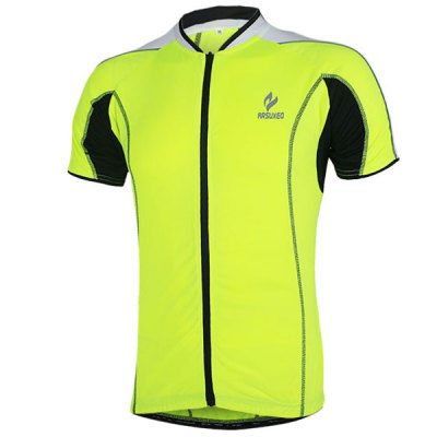 Arsuxeo 668 Cycling Jersey Short Sleeve Sweatshirt Bike Bicycle Outdoor Racing Running ClothesCycling Clothings<br>Arsuxeo 668 Cycling Jersey Short Sleeve Sweatshirt Bike Bicycle Outdoor Racing Running Clothes<br><br>Type: Cycling Jerseys<br>Brand Name: Arsuxeo<br>Model Number: 668<br>For: Unisex<br>Material: Polyester<br>Functions: Quick-drying, Soft, Breathable<br>Suitable for : Mountain Bicycle, Road Bike, Electrombile, Bike, Motorbike<br>Color: Green, Red, Blue<br>Size: L, M, XL, XXL<br> Product weight : 0.220 kg<br>Package weight : 0.250 kg<br>Package size (L x W x H)  : 25 x 22 x 2 cm<br>Package Contents: 1 x Cycling Jersey