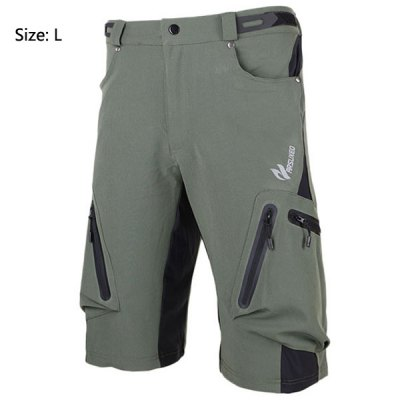 Arsuxeo 1202 Cycling Fifth Pants Trousers Bike Bicycle Outdoor Racing Running Clothes