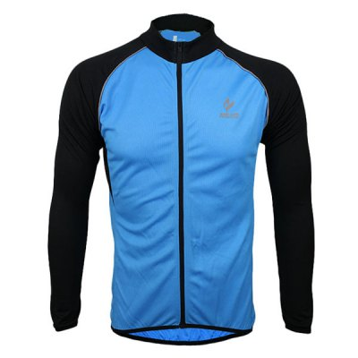 Гаджет   Arsuxeo 6020 UV Protective Men Cycling Jersey Long Sleeve Bike Bicycle Outdoor Racing Running Clothes Cycling Clothings