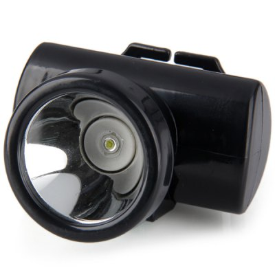 Rechargeable White LED 1W Headlight Emergency Lamp Outdoor Camping Hiking Home Necessary