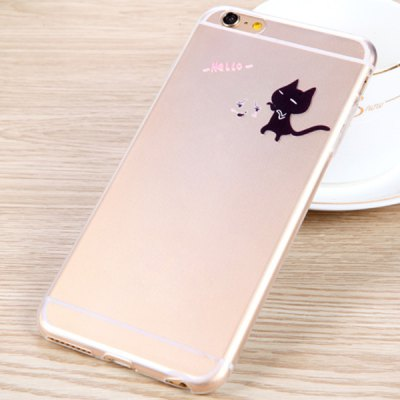 Practical Black Cat Pattern 0.33mm Ultrathin Transparent TPU Back Case for iPhone 6 Plus  -  5.5 inchesiPhone Cases/Covers<br>Practical Black Cat Pattern 0.33mm Ultrathin Transparent TPU Back Case for iPhone 6 Plus  -  5.5 inches<br><br>Compatible for Apple: iPhone 6 Plus<br>Features: Back Cover<br>Material: TPU<br>Style: Special Design<br>Color: Transparent<br>Product weight : 0.011 kg<br>Package weight : 0.031 kg<br>Product size (L x W x H): 15.8 x 8 x 0.8 cm / 6.2 x 3.1 x 0.3 inches<br>Package contents: 1 x Case