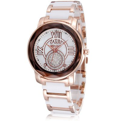 Weiqin 5006 Round Ceramic Quartz Watch for Female