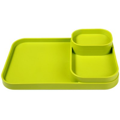 Eco  -  friendly Plastic Condiment Stand Holder for Kitchen
