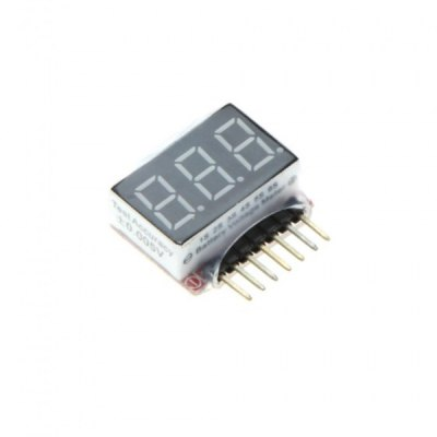 1S  -  6S LED Lipo Battery Voltage Indicator Tester Checker