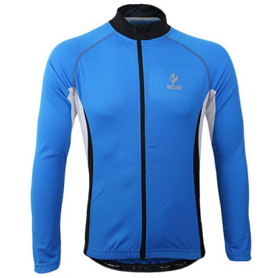 Гаджет   Arsuxeo 60028 Breathable Men Cycling Jersey Long Sleeve Bike Bicycle Outdoor Sports Running Clothes Cycling Clothings