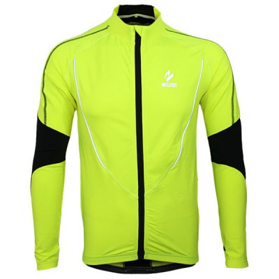 Гаджет   Arsuxeo 130021 Breathable Men Cycling Jersey Long Sleeve Bike Bicycle Outdoor Sports Running Clothes Cycling Clothings