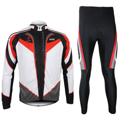 Гаджет   Arsuxeo C01 Men Cycling Suit Jersey Jacket Pants Kit Long Sleeve Bike Bicycle Outdoor Running Clothes Other Accessories