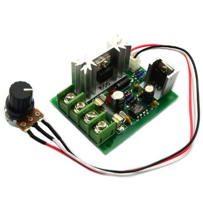 Practical Large Torque 120W DC 10  -  30V Motor Speed Switch Controller