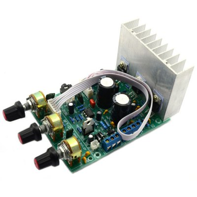 TDA2030A 2.1 3 Channel Stereo Audio Subwoofer Bass Amplifier Board Compatible with LM1875