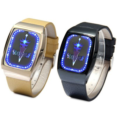 Гаджет   SDO T - 21406 LED Watch Flash LED Touch Watches Magic Sword Water Resistant