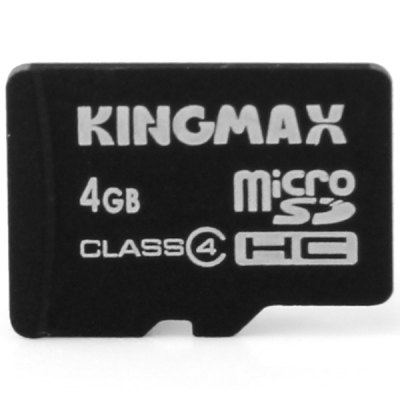 KingMax High Compatibility 2 In 1 OTG Card Reader And Class 4 4GB Micr