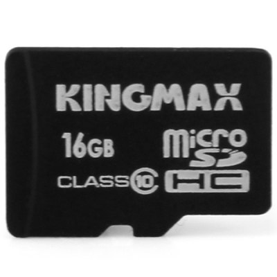 KingMax High Compatibility 2 in 1 OTG Card Reader and Class 10 16GB Micro SD Card Support Micro SD SDHC SDXC Card Input