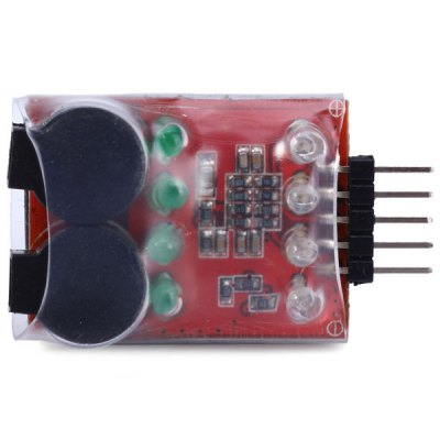 Гаджет   2  -  4S RC Lithium Polymer Battery Low Voltage LED Annunciator Dual Speaker Buzzer BB Dolls & Action Figures